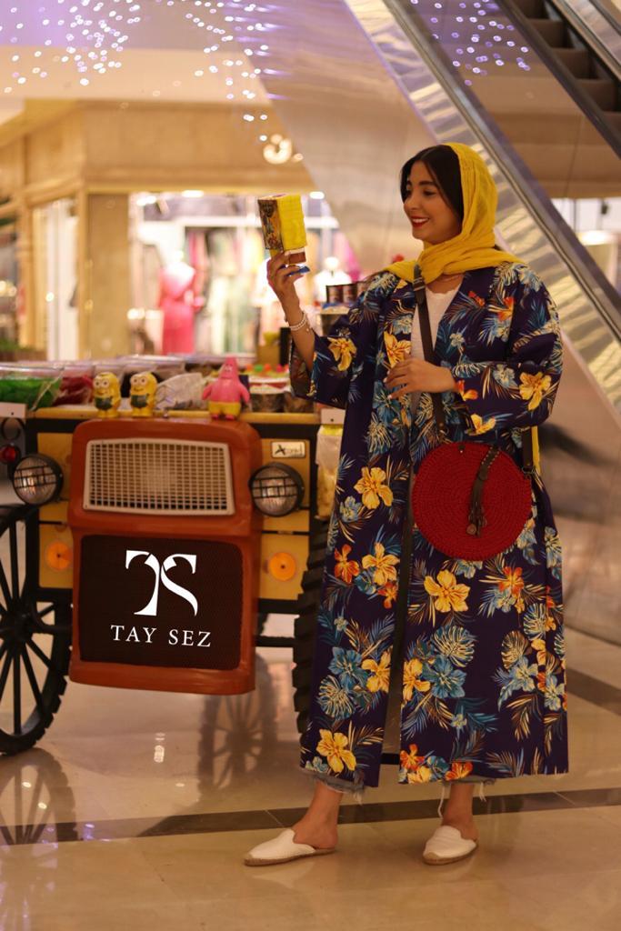 مدل مانتو بلند جدید تایسز مزونی تایلندی